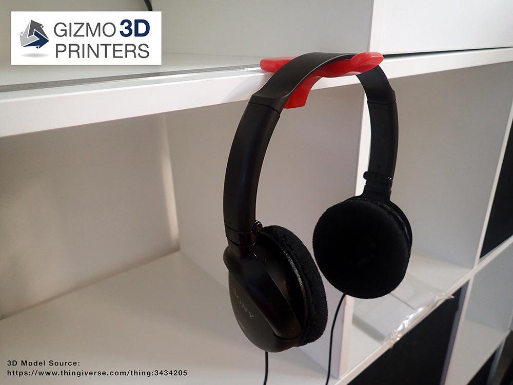 Headphones Hanger print