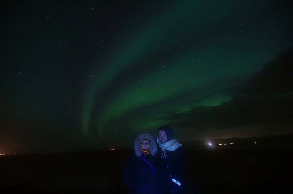 Nothern Lights, Iceland. One of the most amazing honeymoon places.