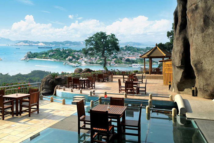 Romantic accommodation Swiss Grand Xiamen