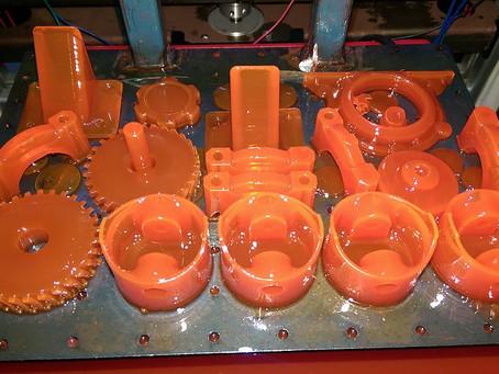 Printing a Toyota engine on a DLP 3D Printer