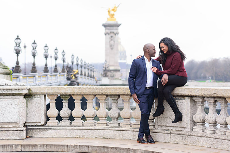 Picturesque Marriage Proposal in Paris and Proposal Tips in