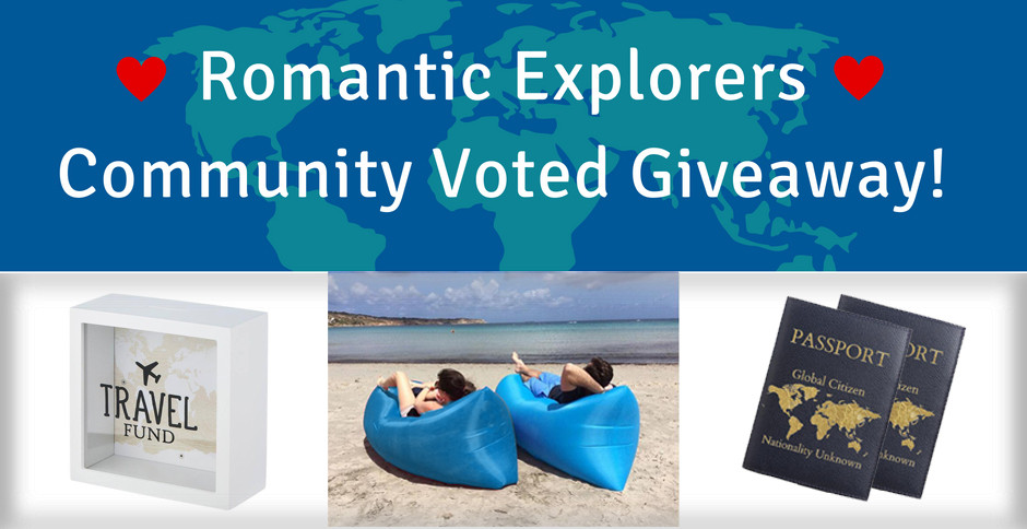 Romantic Explorers Community Voted Giveaway