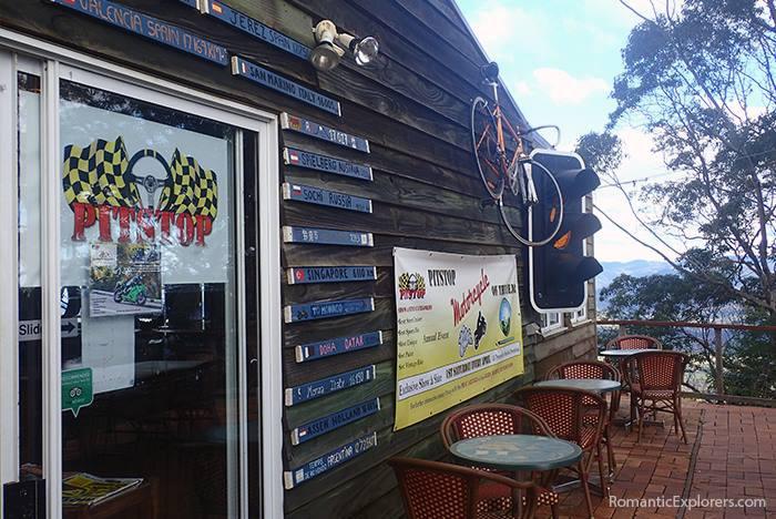 Date idea: Visit scenic Pitstop Cafe in Ocean View, Queensland