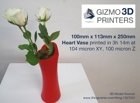 Gizmo 3D Printer Use Case: 3D Printing to Promote an Event, Brand or Service