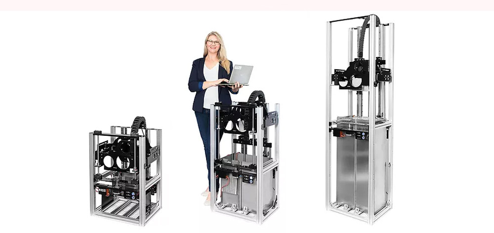 The big volume resin 3D printer range of Gizmo 3D Printers