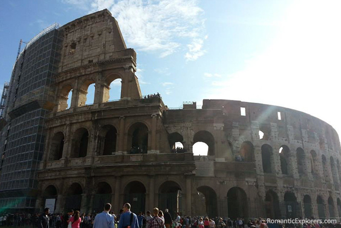The outside of The Colosseum
