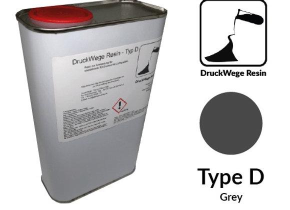 Druckwege Type D Grey