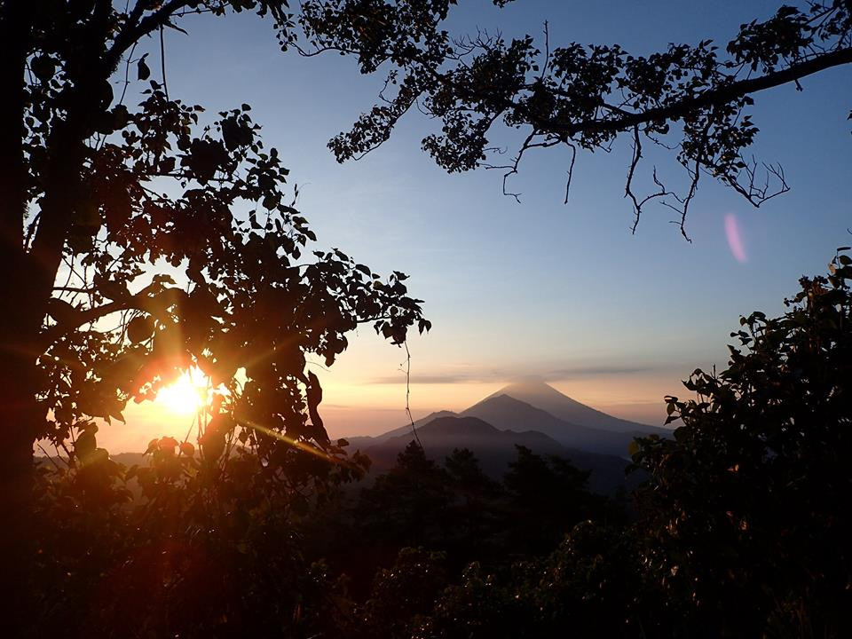 Mount Batur, Volcano at Sunrise with Bali Expedition Tours.