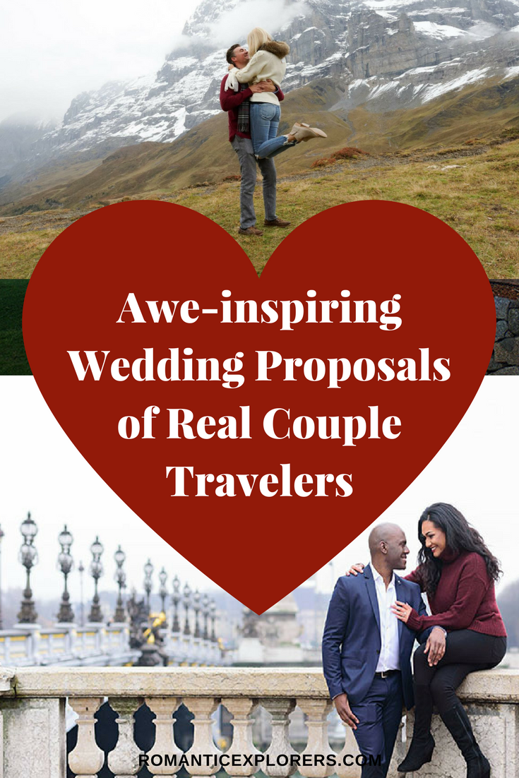 Save these romantic proposal ideas to Pinterest