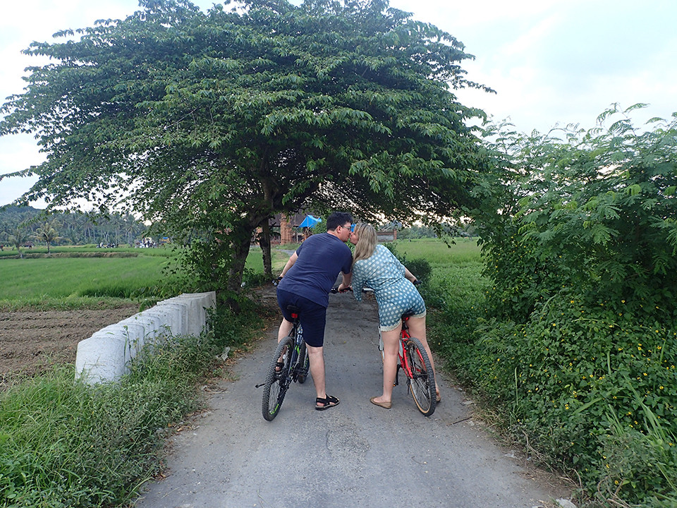 Romantic Cycling Tour, Bali, Ubud