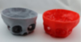3D printed objects printed on a Gizmo 3D Printer