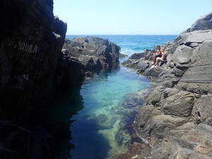 A Romantic Day Out in Search of the Secret Fairy Pools in Noosa