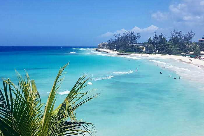 Photo showing the beauty of romantic Barbados - perfect for a romantic getaway