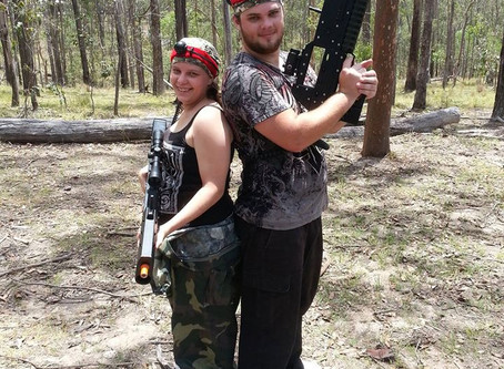 Mr. and Mrs. Smith Laser Tag Rental: Action, Adventure and Romance