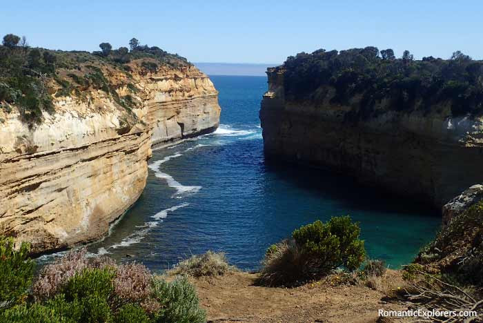 Romantic view from Loch Ard Gorge, Melbourne
