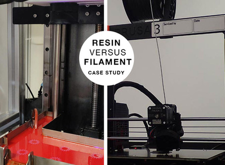 Case Study: Gizmo 3D Resin 3D Printer versus Filament