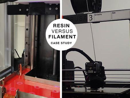 Case Study: Gizmo 3D Resin 3D Printer versus Filament