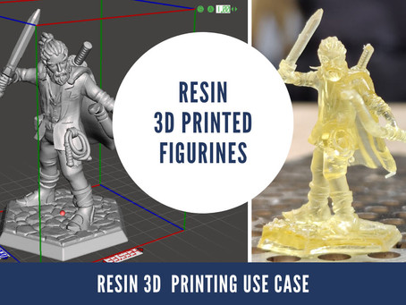Resin 3D Printing Use Case: Figurines