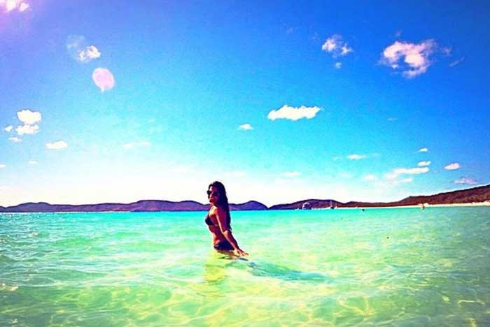 The Whitsundays, Australia is a recommended romantic escape