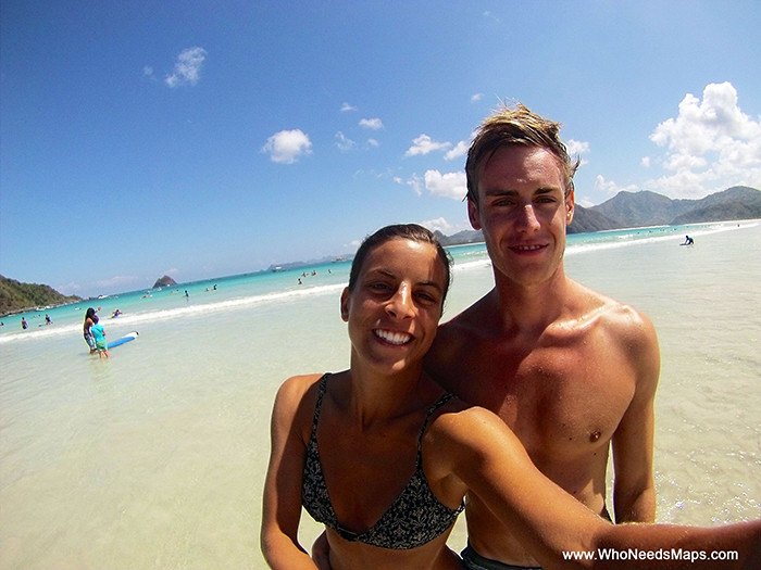 Couple travelers Jenn and Jack, romantic getaway