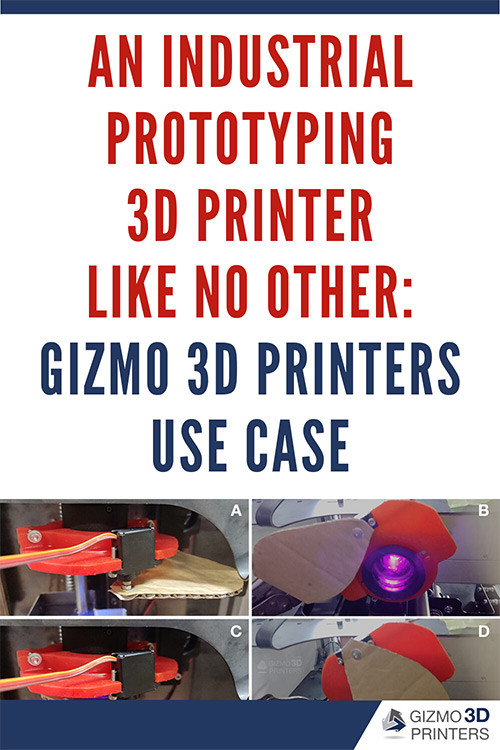 An industrial prototyping 3D printer like no other: Gizmo 3D Printers Use Case