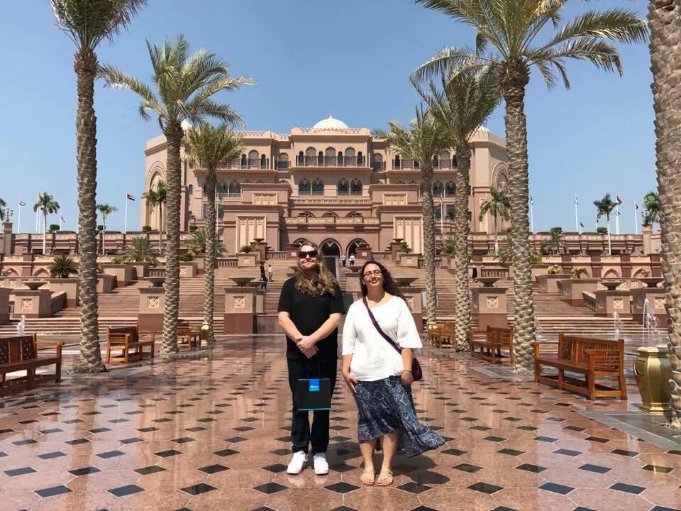 Anne & Jaylan in Abu Dhabi | Honeymoon ideas