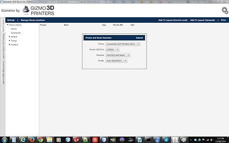 Gizmetor software screenshot