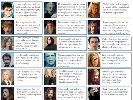 What Harry Potter Taught Us…