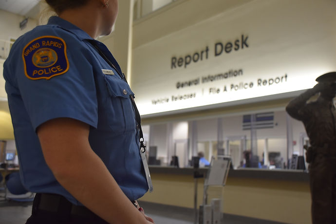 Grand Rapids Police Department Paid Internship Program