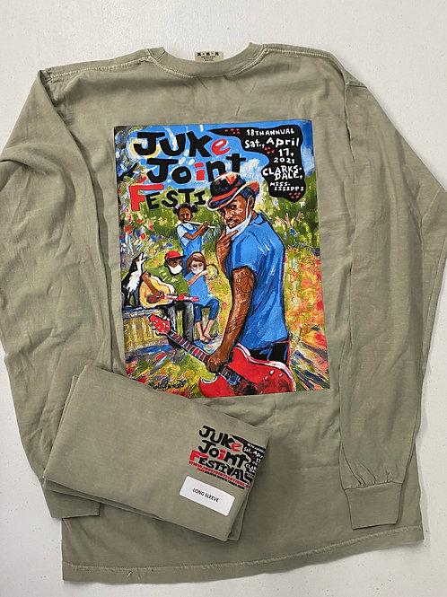 JJFest 2021 Long Sleeve T-Shirt _Adults_Sandstone