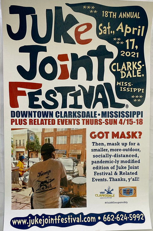 2021 JJFest Club Poster