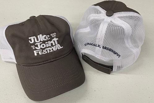 JJFest Grey Mesh Hat