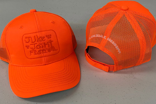 JJFest Orange Mesh Hat