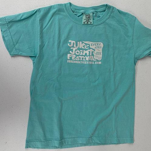 JJFest Youth Shirts-Chalky Mint