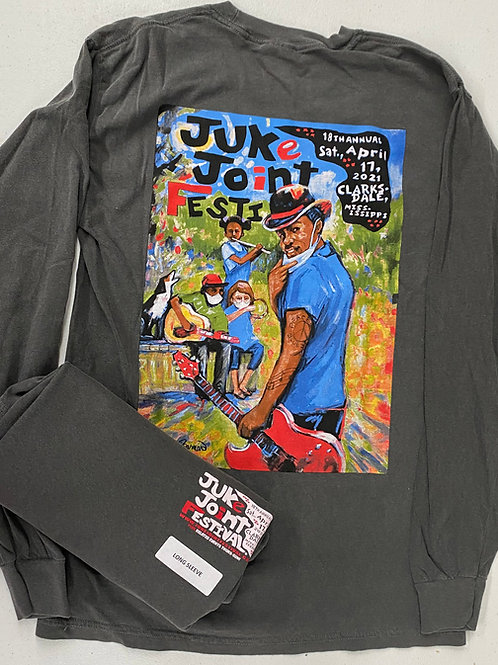 JJFest 2021 Long Sleeve T-Shirt _Adults_Pepper