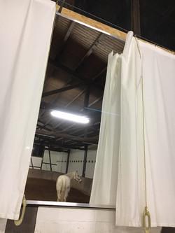 Hartge Folienspiegel Vorhang