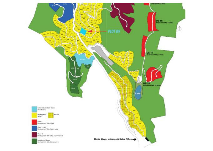 Plot Location In Blue