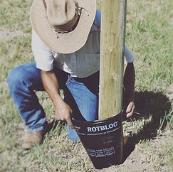 ROTBLOC Chemically Treated Pole Installation.jpg