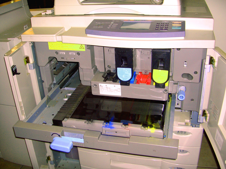 Service-Monitor Drucker-Reparatur