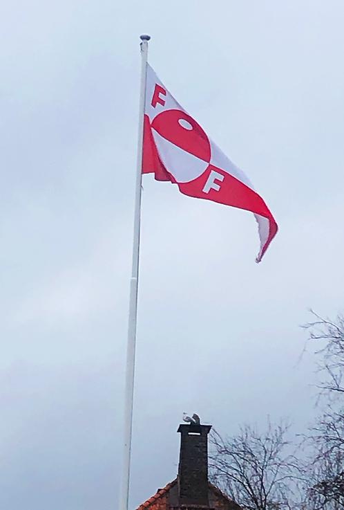 FFK flagg til flaggstang