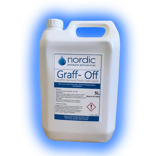 Graff-off Plastic Safe 5L