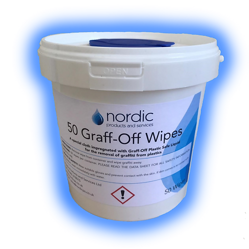 Graff-off wipes 50
