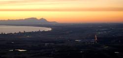 False Bay / Helderberg sunset