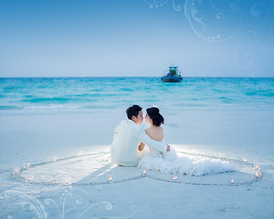 Pre wedding Phuket Thailand photograph album