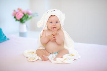 amazon baby towel photography