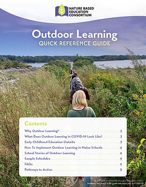 Outdoor Learning Guide cover