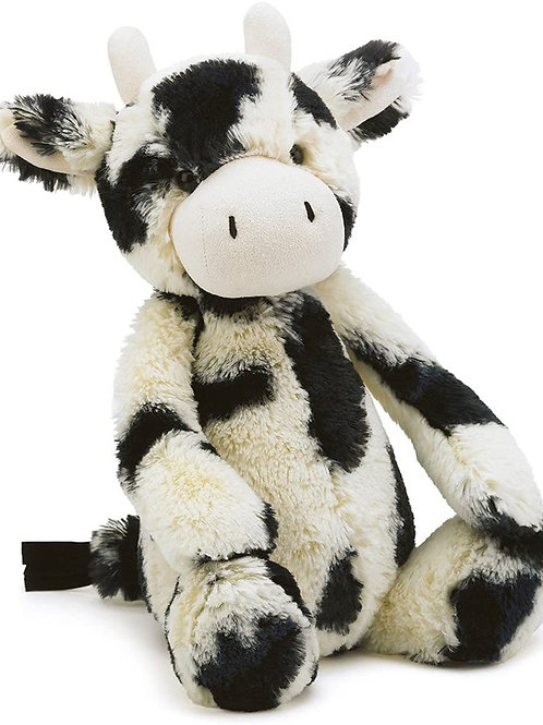 Jellycat Bashful Cow Calf Stuffed Animal, Medium, 12 inches