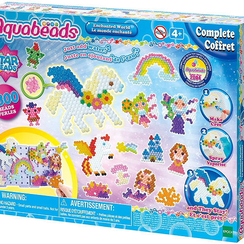 Aquabeads Enchanted World Complete Arts & Crafts Bead Kit fot Children- Over 1,0