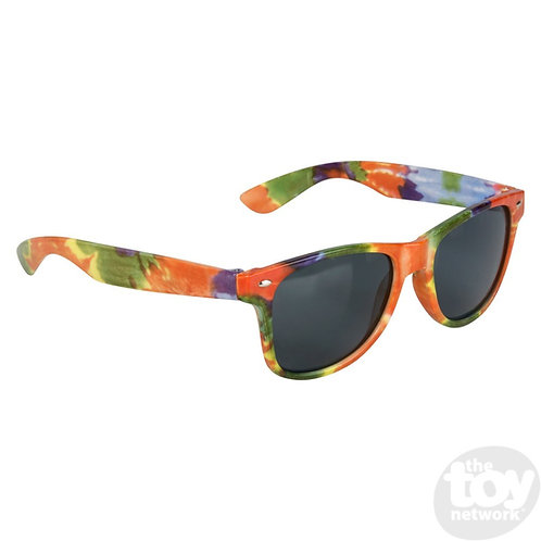 Tie-Dye Color Frame Sunglasses