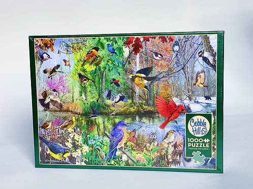 Birds in the Woods 1000pc Puzzle